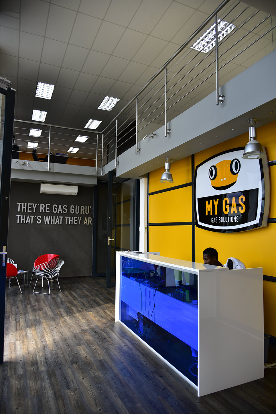 Client: My Gas | Project: New Office and Warehouse | Location: Lanseria Corporate Estate, Lanseria | Budget: R15 million