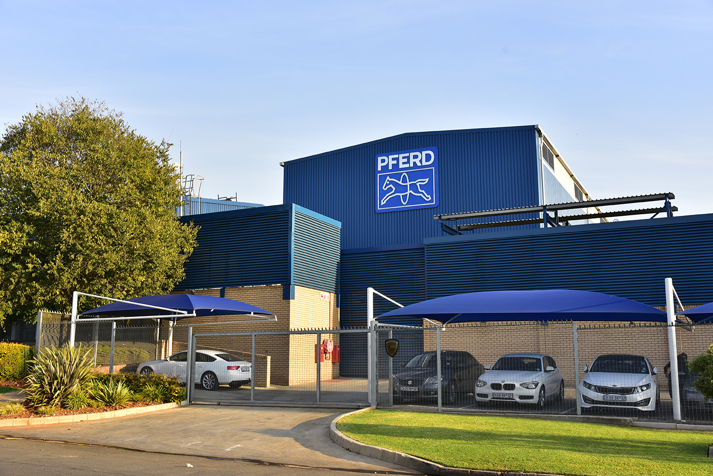 Client: Pferd South Africa | Project: Factory Extension and Office Redevelopment | Location: Spartan, Kempton Park | Budget: R12,5 million